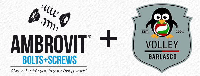 Garlasco Volley sponsor Ambrovit