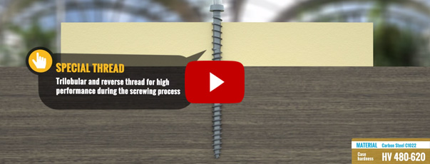 Ambrovit Carpentry wood terrace screws